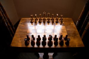 Chessboard in Great Hall