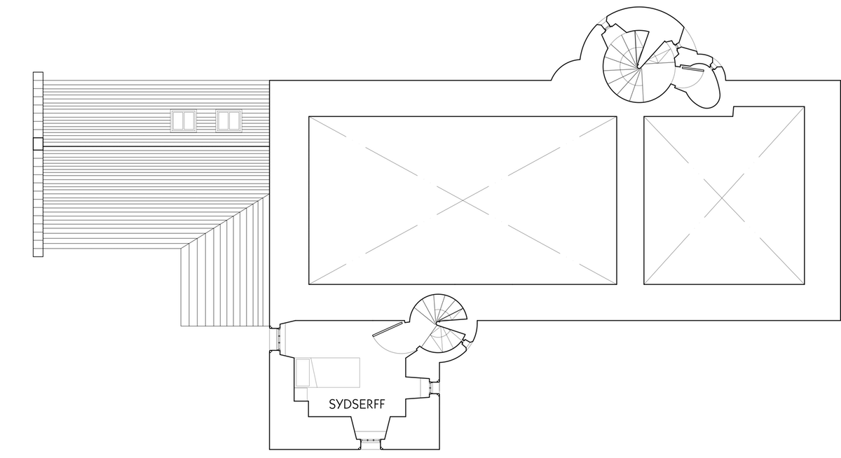 Floor plan of Fenton Tower mezzanine